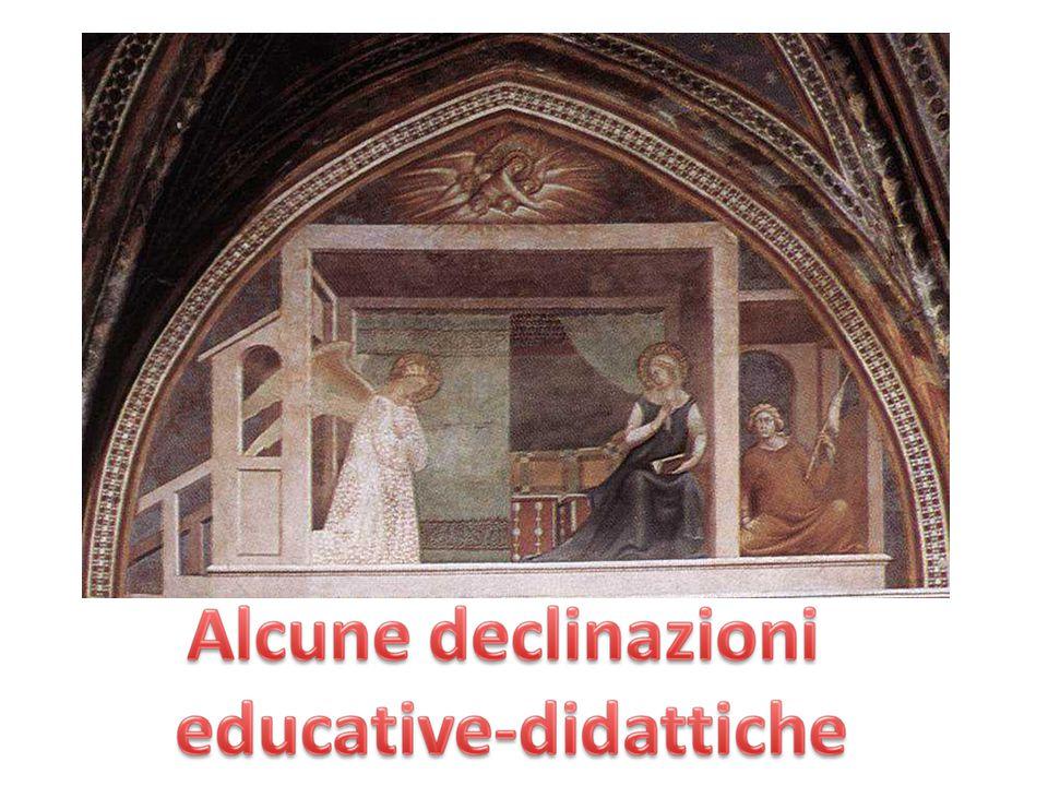 BARNA DA SIENA, Annunciazione, 1340, Collegiata San Gimignano, Siena