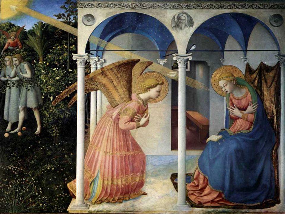 Beato Angelico, Annunciazione, 1432, Museo del Prado, Madrid