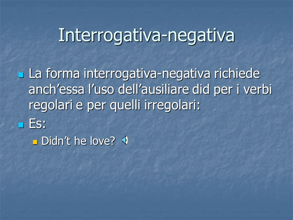 Interrogativa-negativa