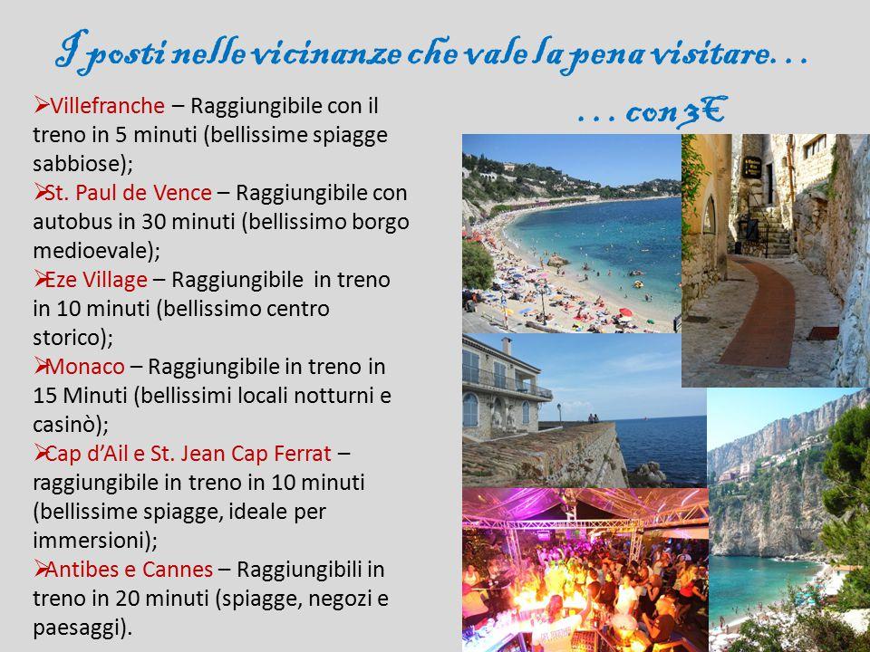 I posti nelle vicinanze che vale la pena visitare… …con 3€