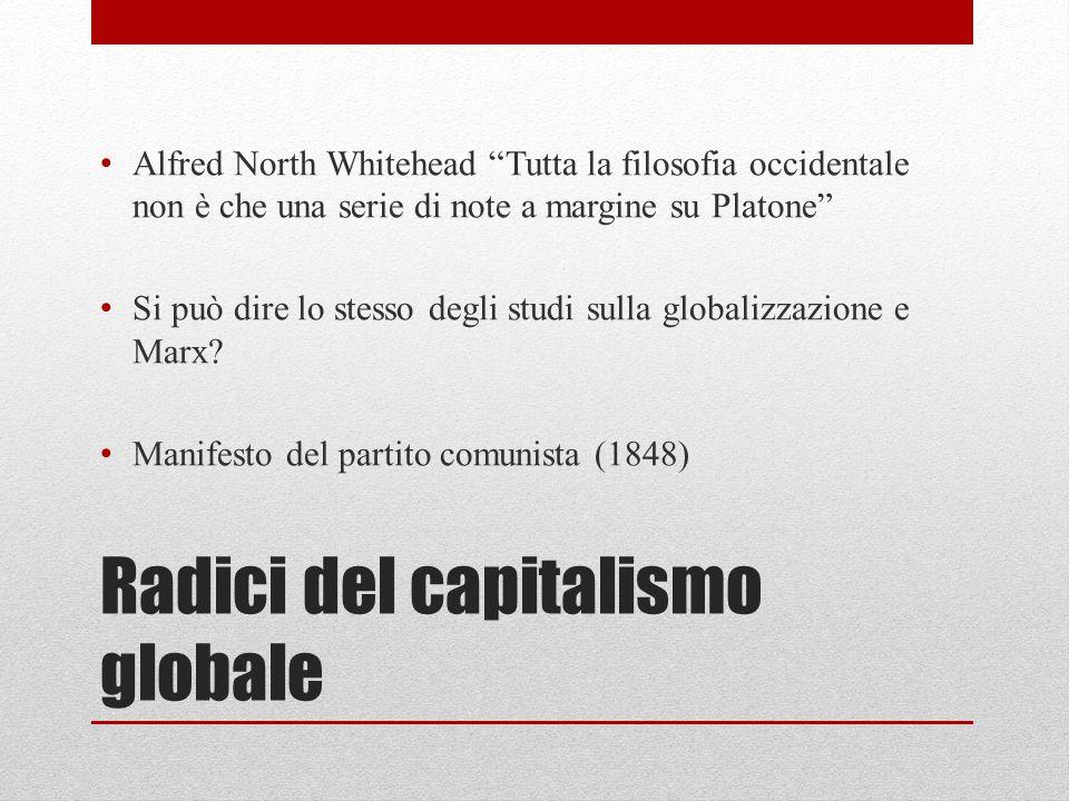 Radici del capitalismo globale