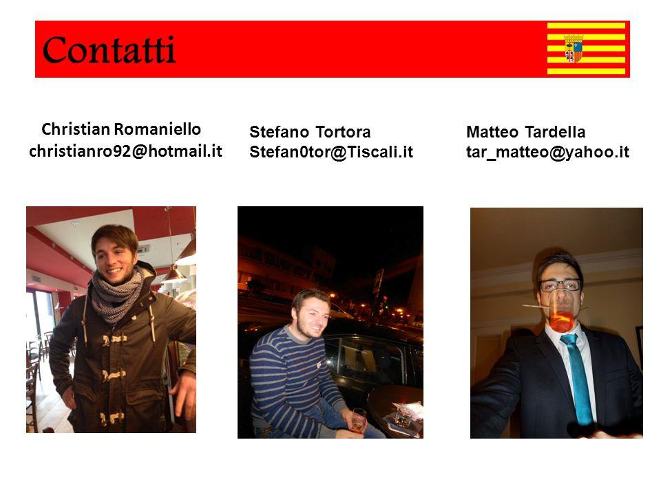 Christian Romaniello christianro92@hotmail.it