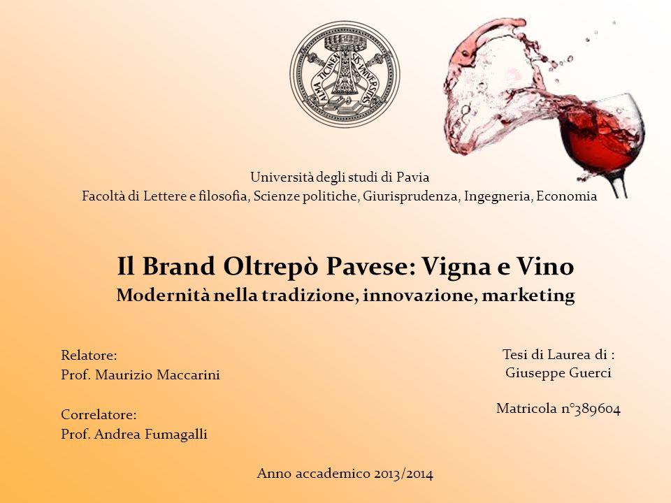 Il Brand Oltrepò Pavese: Vigna e Vino