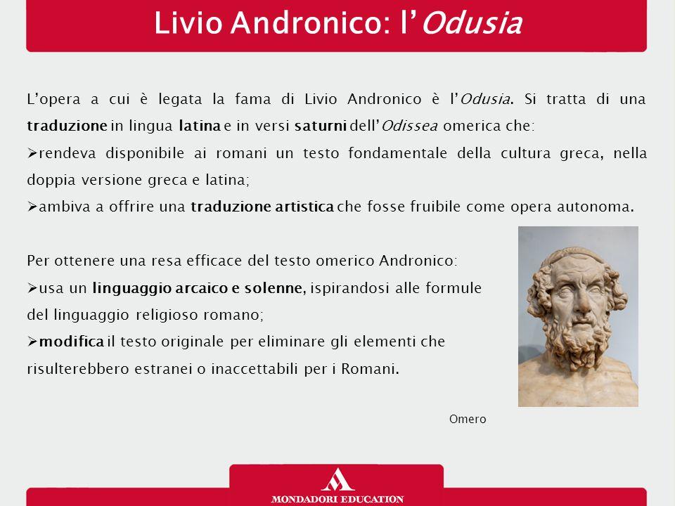 Livio Andronico: l'Odusia