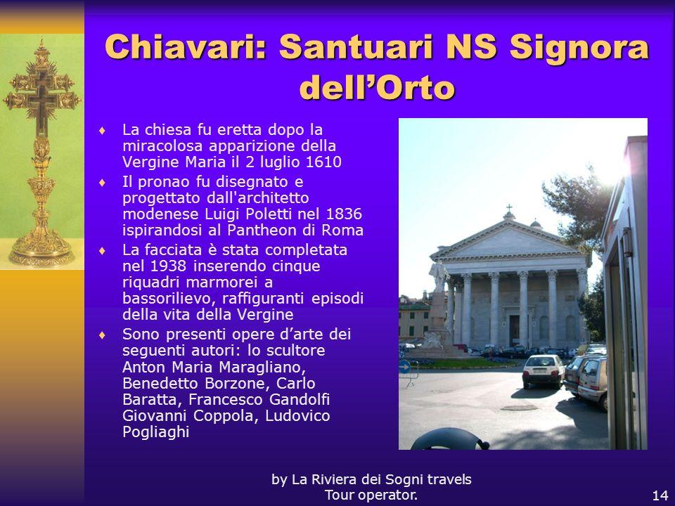 Chiavari: Santuari NS Signora dell'Orto