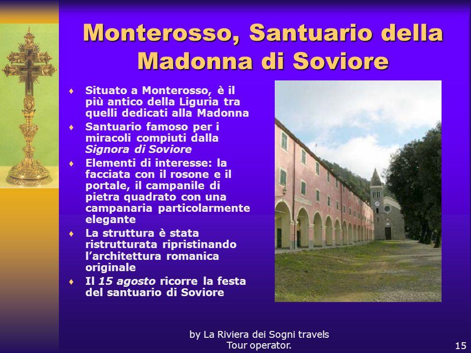 Monterosso, Santuario della Madonna di Soviore