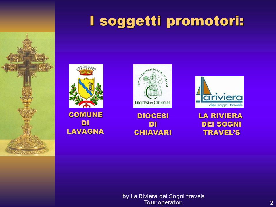 by La Riviera dei Sogni travels Tour operator.