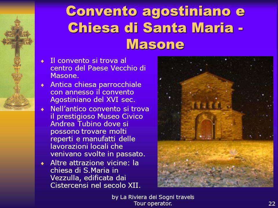 Convento agostiniano e Chiesa di Santa Maria - Masone