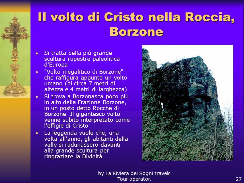 Il volto di Cristo nella Roccia, Borzone