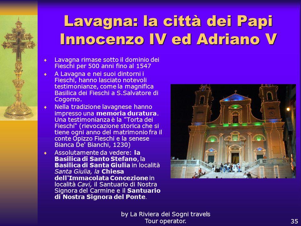 Lavagna: la città dei Papi Innocenzo IV ed Adriano V