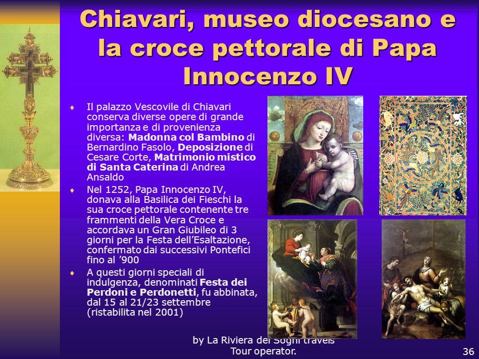 Chiavari, museo diocesano e la croce pettorale di Papa Innocenzo IV