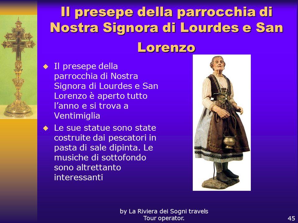 Il presepe della parrocchia di Nostra Signora di Lourdes e San Lorenzo