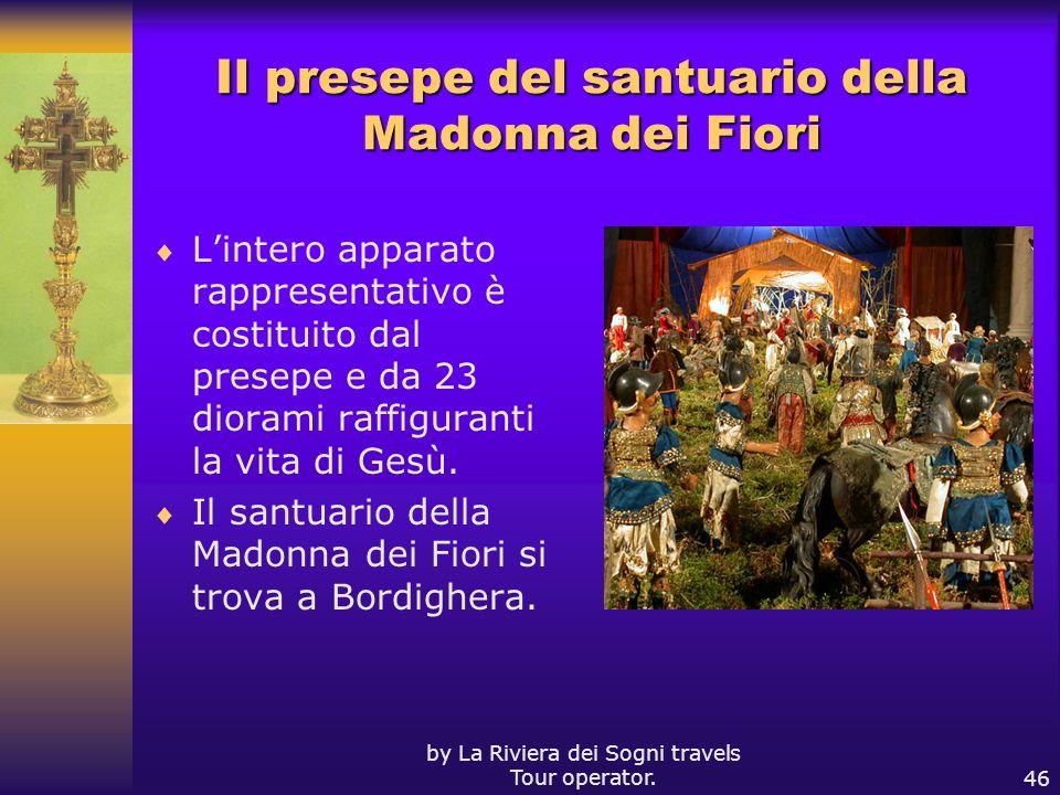 Il presepe del santuario della Madonna dei Fiori