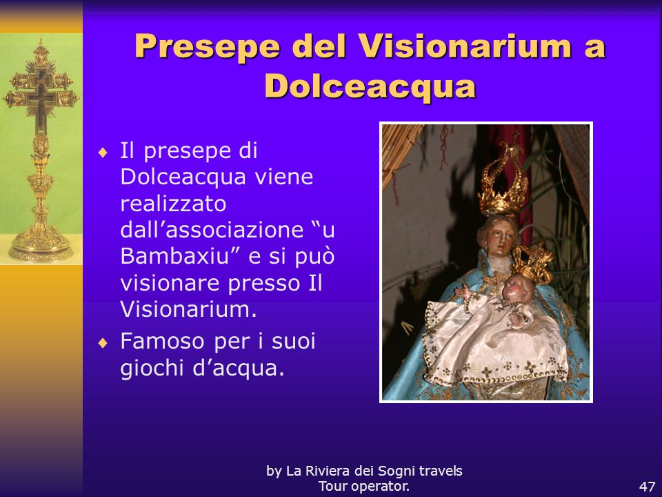 Presepe del Visionarium a Dolceacqua