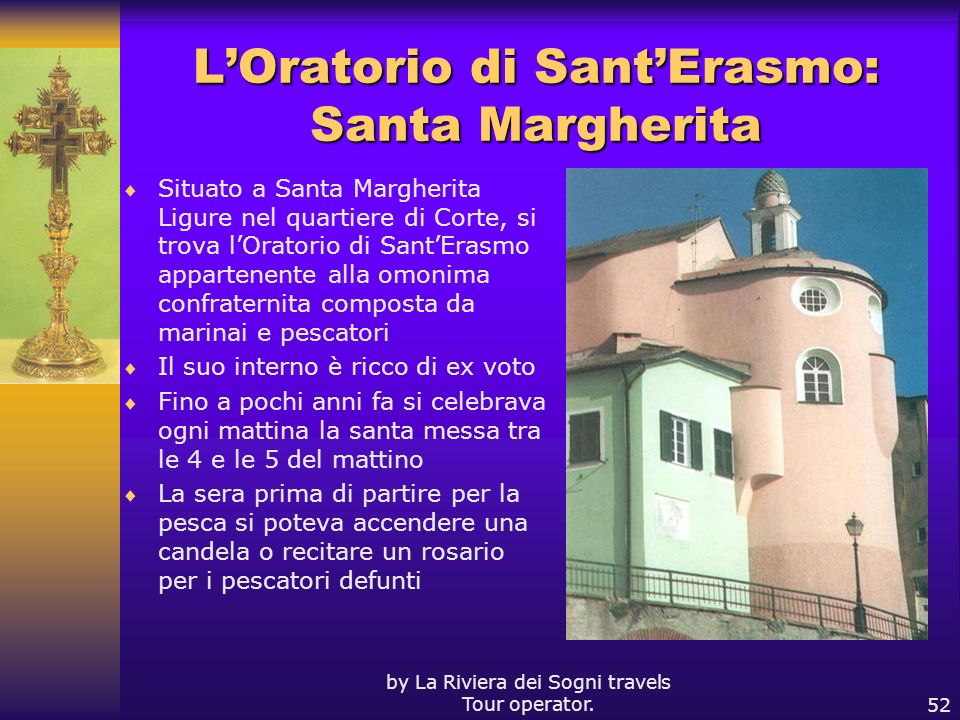L'Oratorio di Sant'Erasmo: Santa Margherita