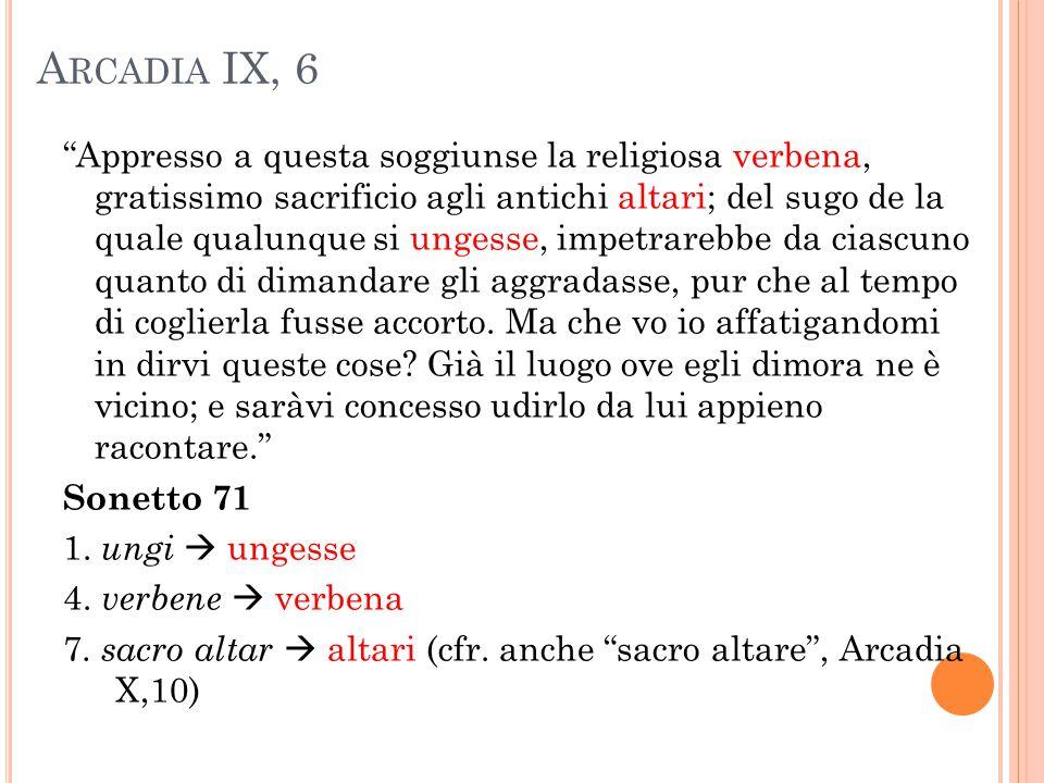 Arcadia IX, 6