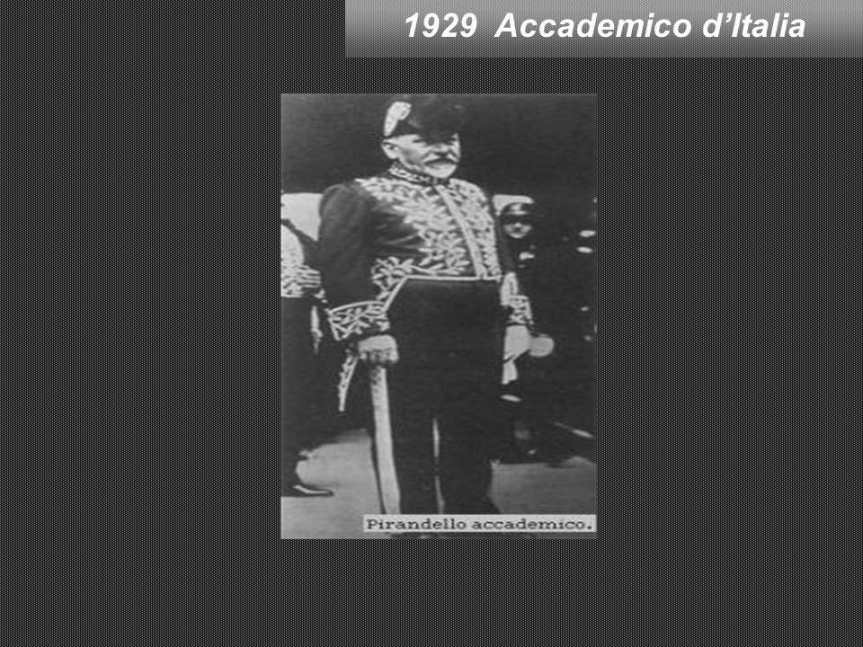 1929 Accademico d'Italia