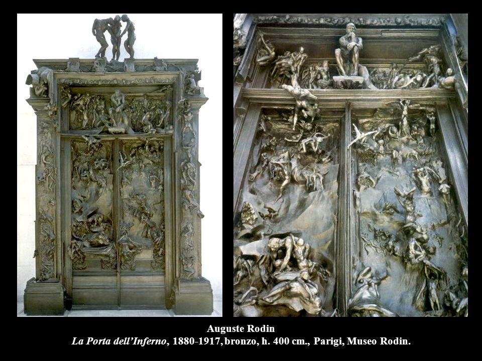 Auguste Rodin La Porta dell'Inferno, 1880-1917, bronzo, h. 400 cm