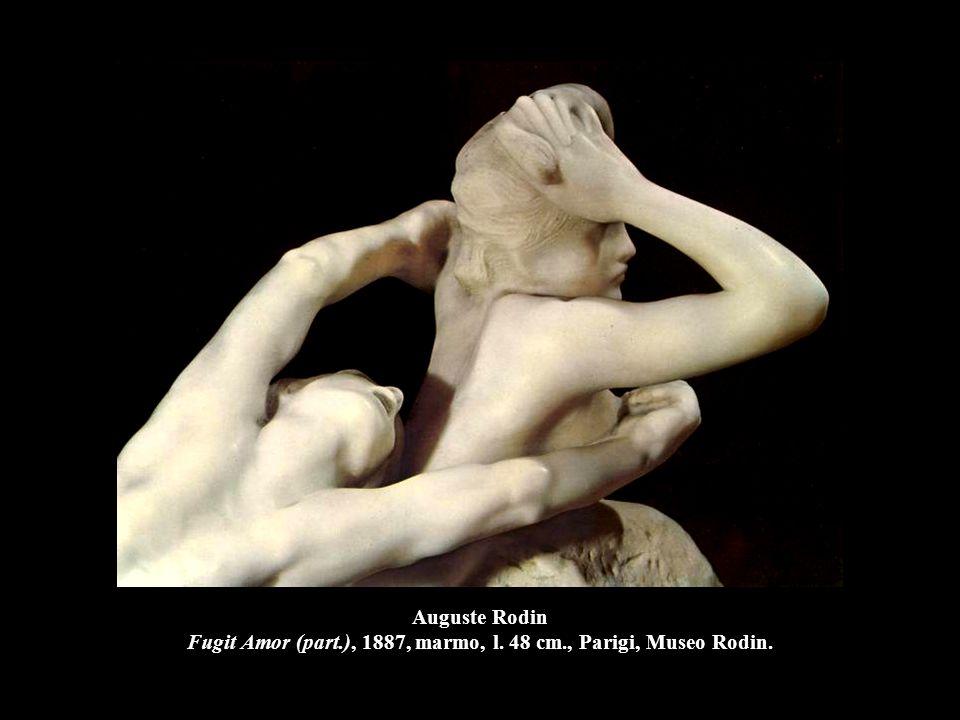 Auguste Rodin Fugit Amor (part. ), 1887, marmo, l. 48 cm