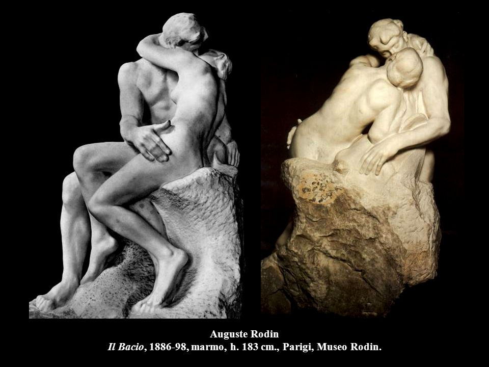 Auguste Rodin Il Bacio, 1886-98, marmo, h. 183 cm