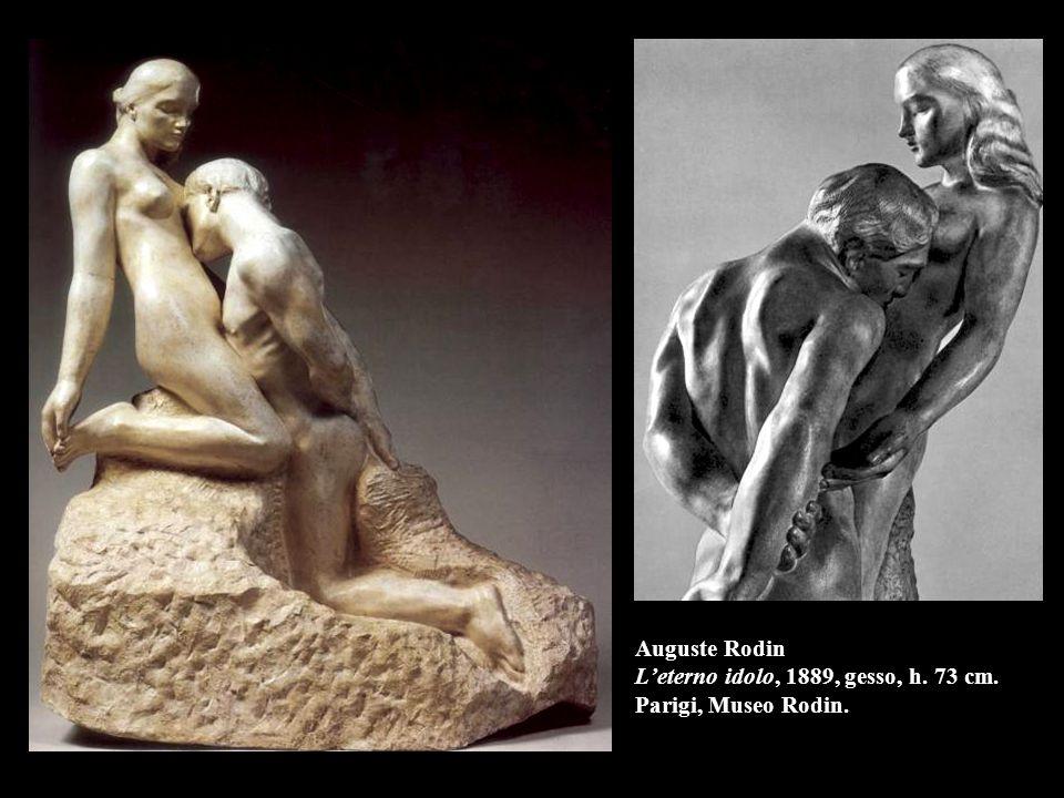Auguste Rodin L'eterno idolo, 1889, gesso, h. 73 cm