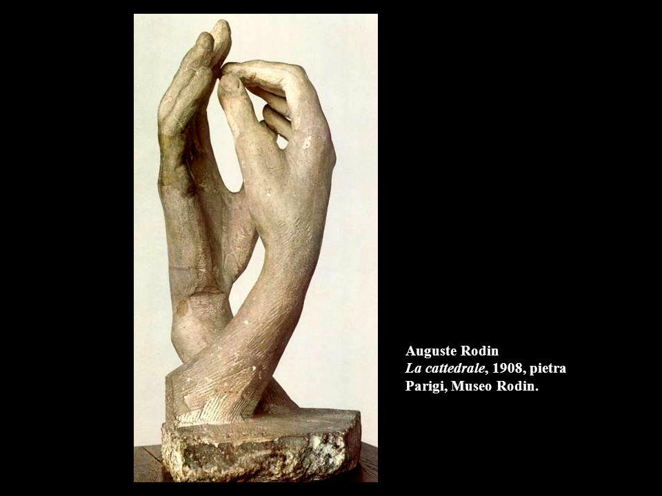 Auguste Rodin La cattedrale, 1908, pietra Parigi, Museo Rodin.