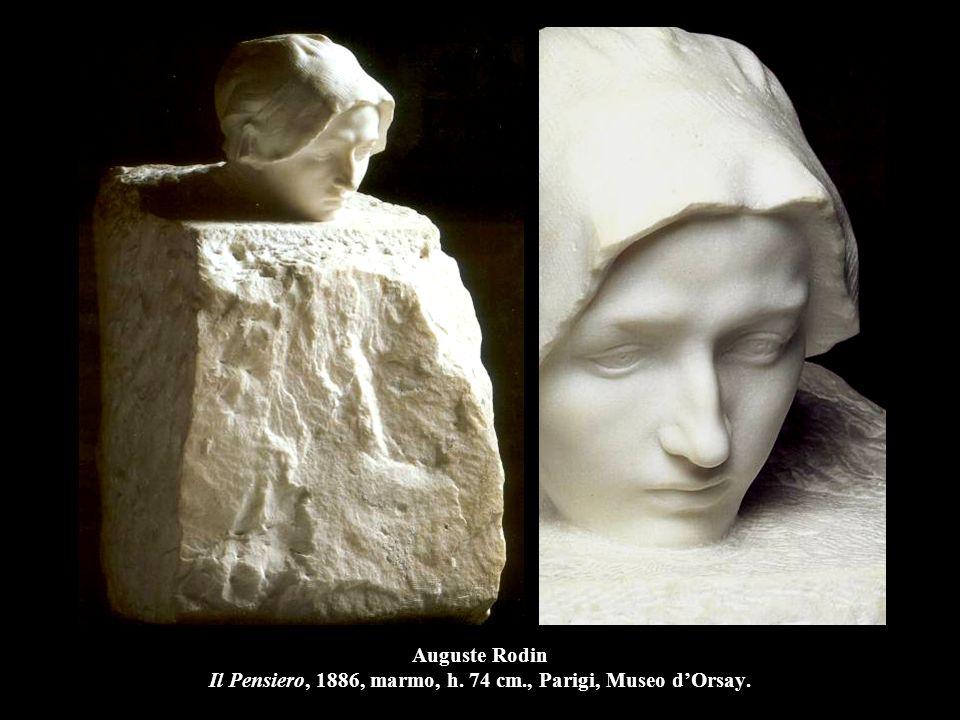 Auguste Rodin Il Pensiero, 1886, marmo, h. 74 cm