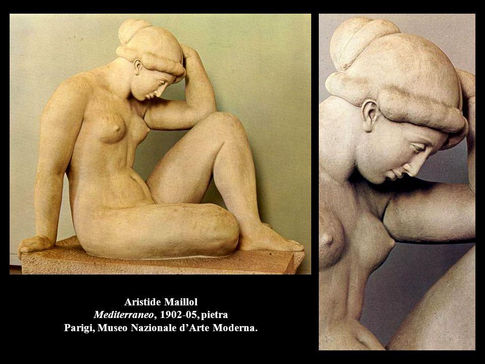 Aristide Maillol Mediterraneo, 1902-05, pietra Parigi, Museo Nazionale d'Arte Moderna.