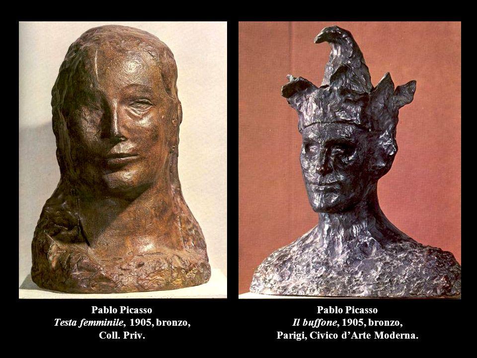 Pablo Picasso Testa femminile, 1905, bronzo, Coll. Priv.