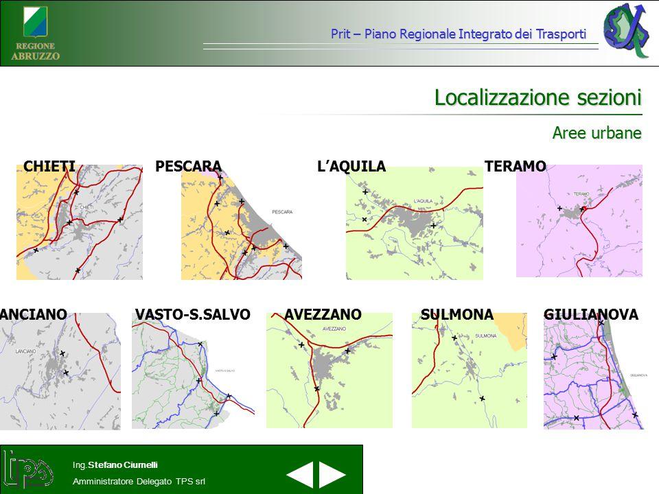 Localizzazione sezioni
