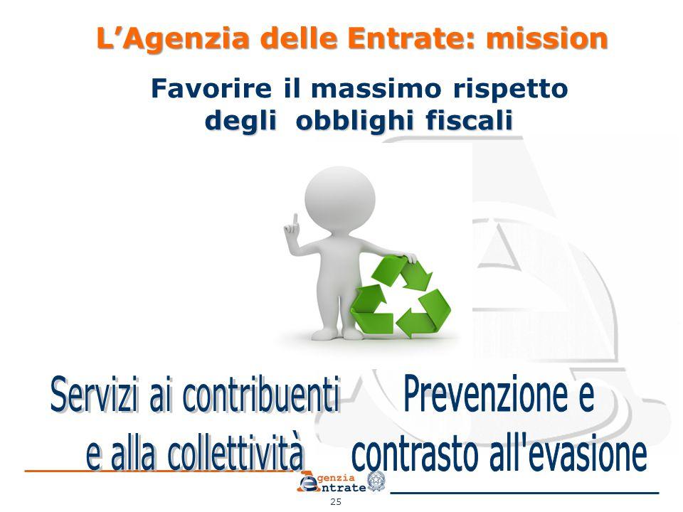L'Agenzia delle Entrate: mission