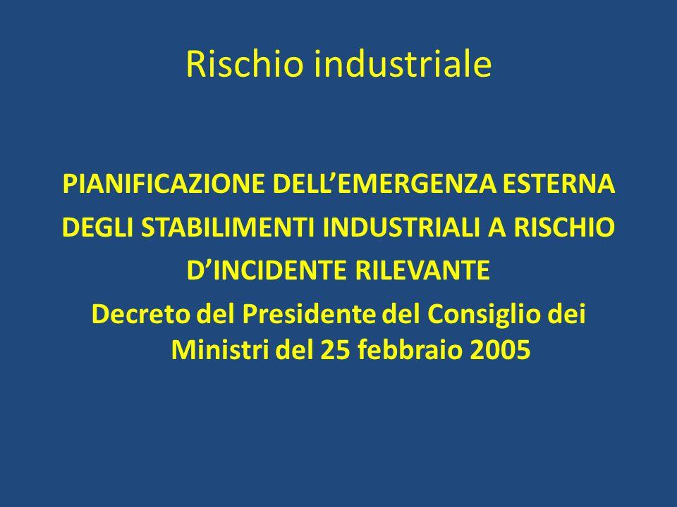 Rischio industriale