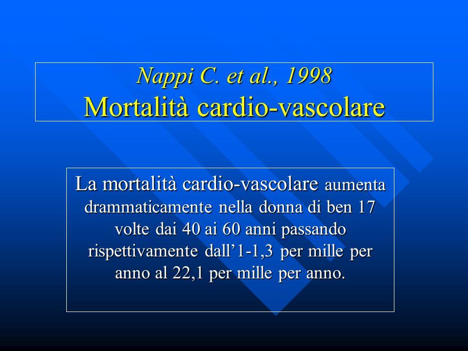 Nappi C. et al., 1998 Mortalità cardio-vascolare