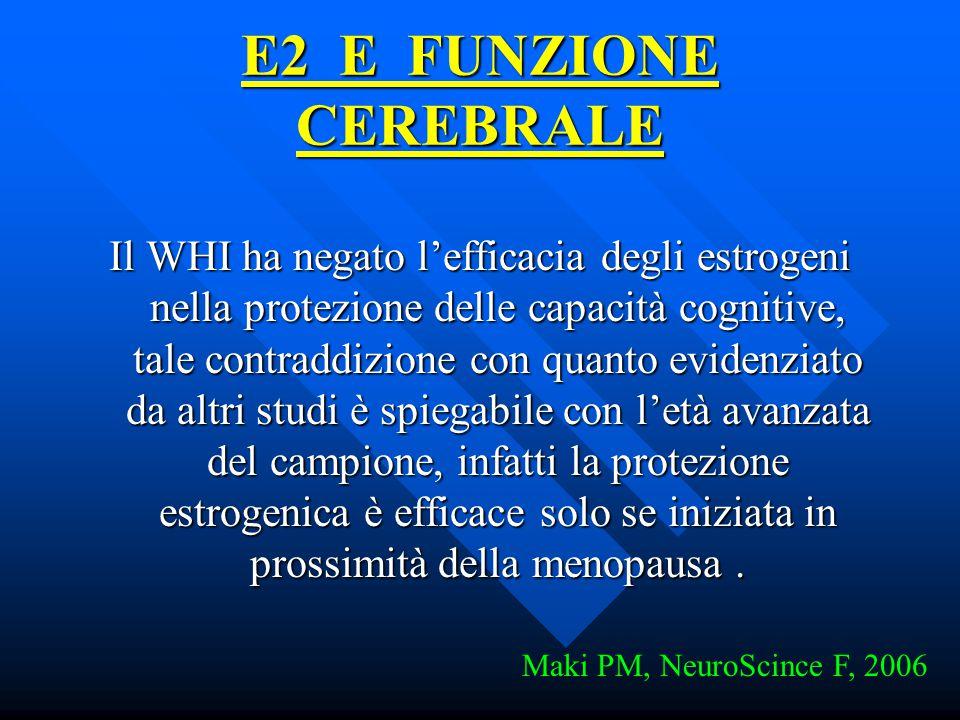 E2 E FUNZIONE CEREBRALE
