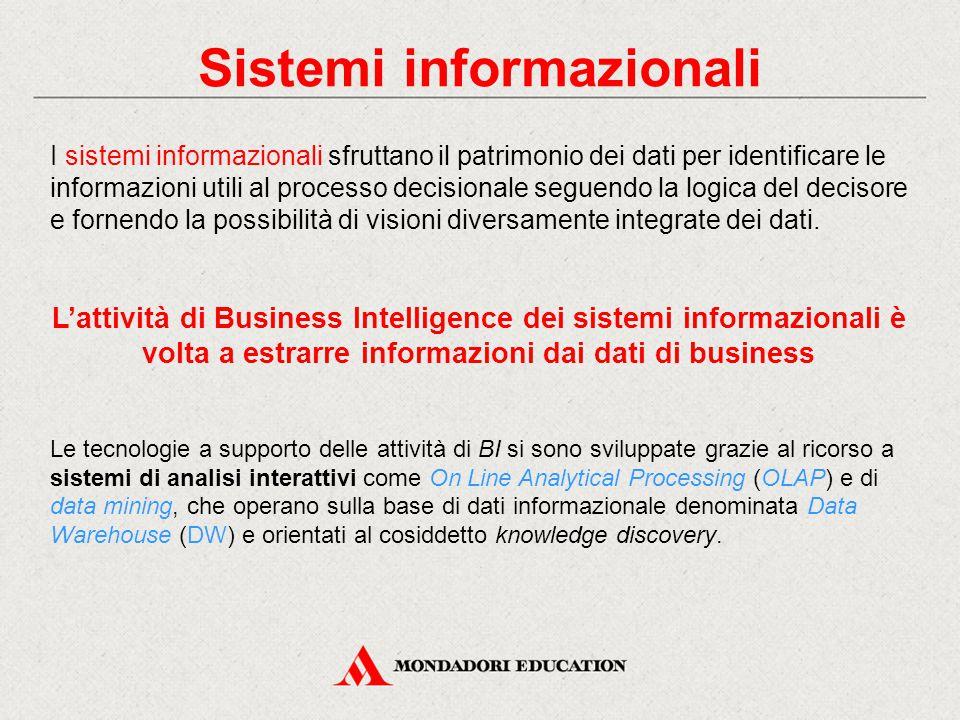 Sistemi informazionali