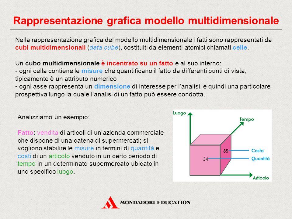 Rappresentazione grafica modello multidimensionale