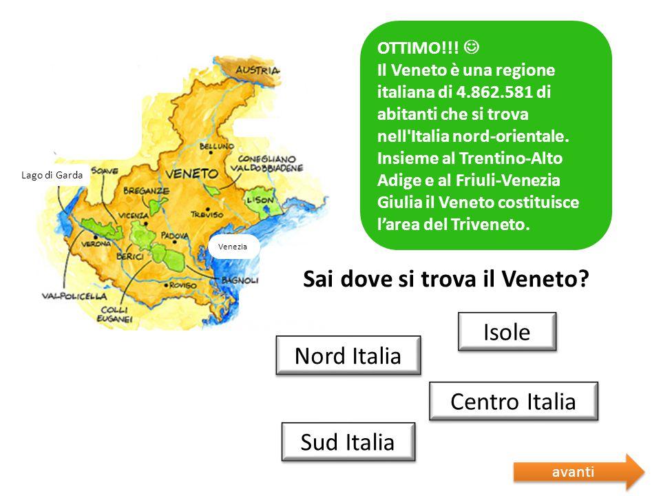 Sai dove si trova il Veneto