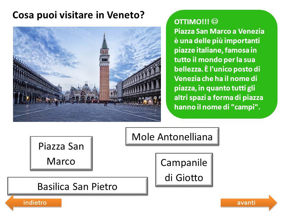 Cosa puoi visitare in Veneto