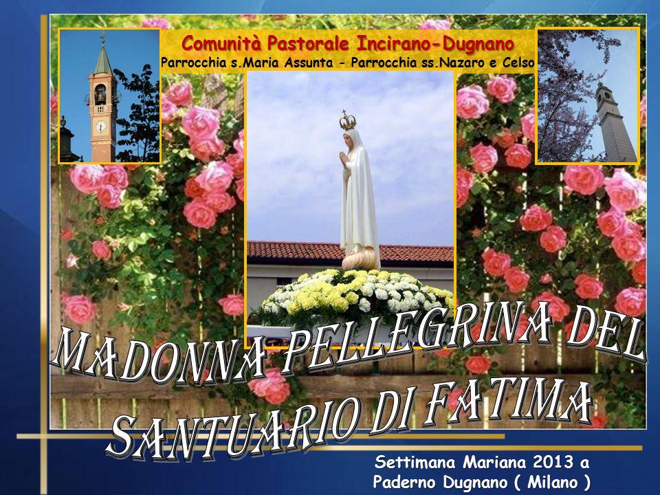 madonna Pellegrina del Santuario di Fatima