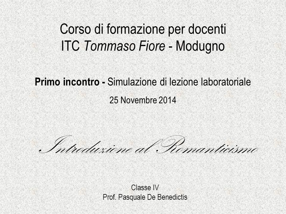 Corso di formazione per docenti ITC Tommaso Fiore - Modugno