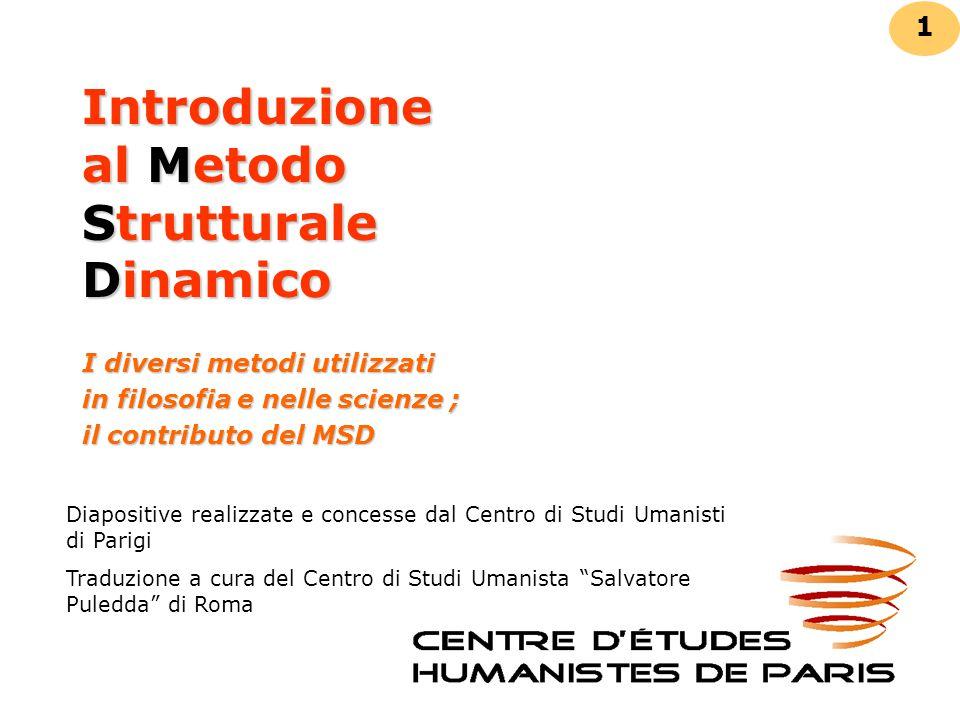 Introduzione al Metodo Strutturale Dinamico