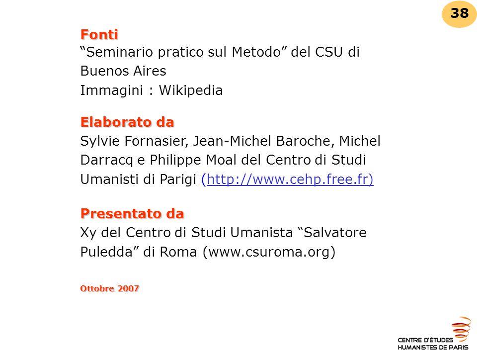 Seminario pratico sul Metodo del CSU di Buenos Aires