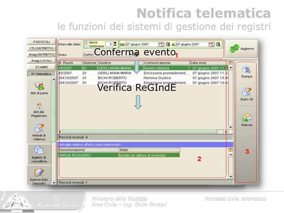 Notifica telematica le funzioni dei sistemi di gestione dei registri