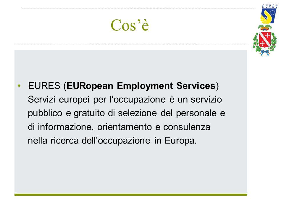 Cos'è EURES (EURopean Employment Services)