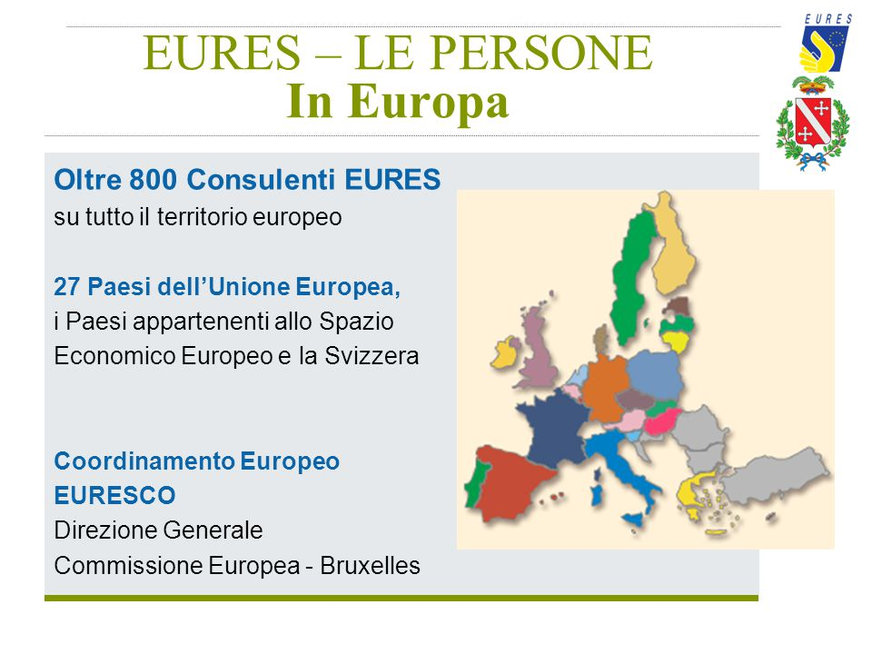 EURES – LE PERSONE In Europa