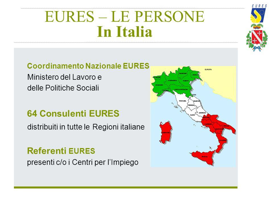 EURES – LE PERSONE In Italia
