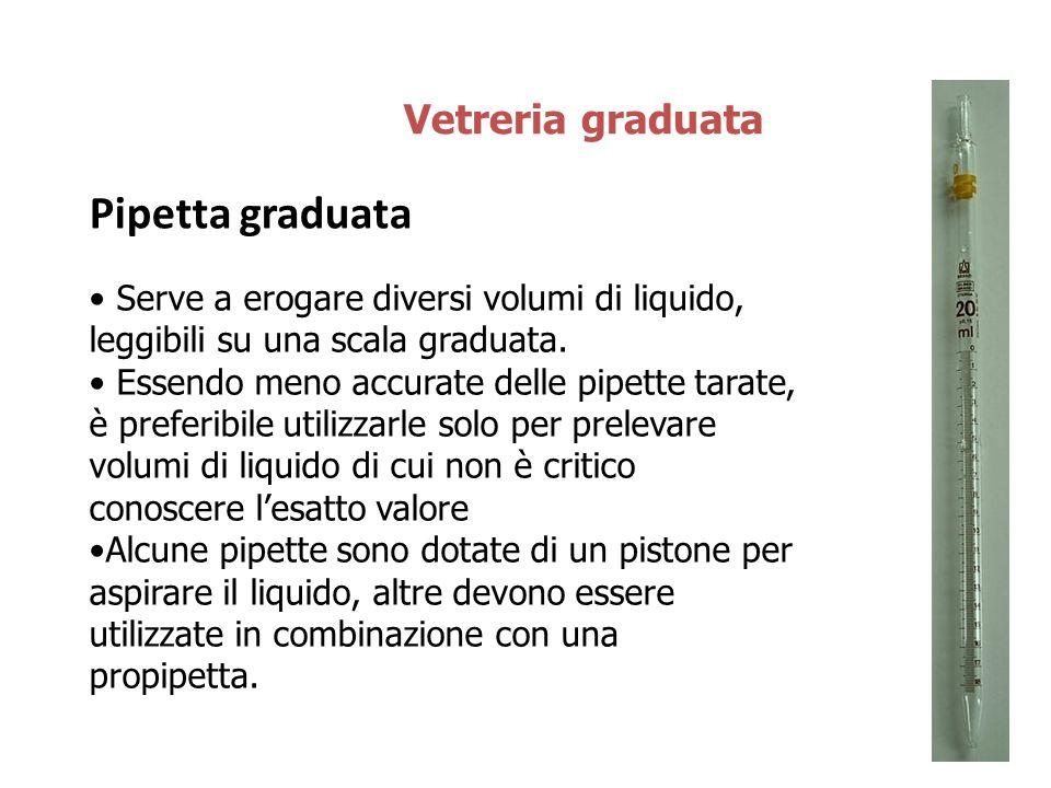 Pipetta graduata Vetreria graduata