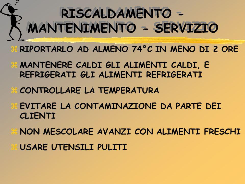 RISCALDAMENTO - MANTENIMENTO - SERVIZIO