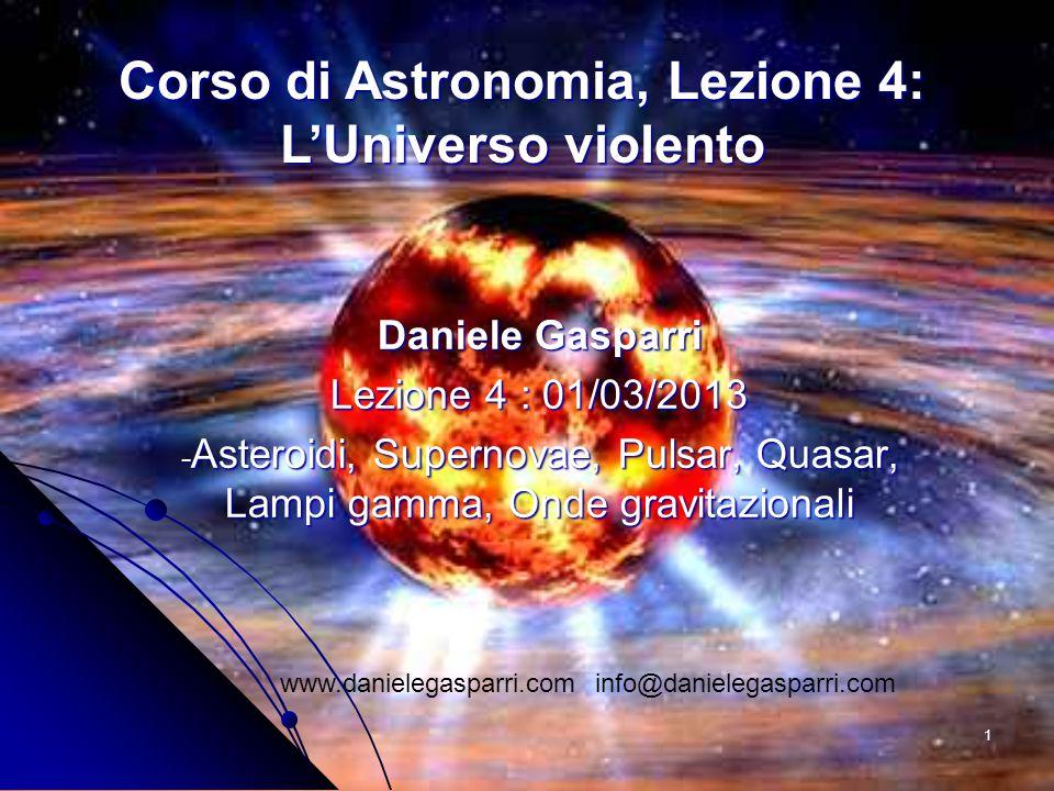 Corso di Astronomia, Lezione 4: