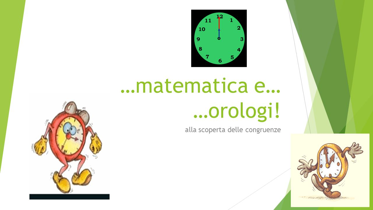 …matematica e… …orologi!